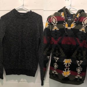 AE Small Hoodie/Sweater Bundle!